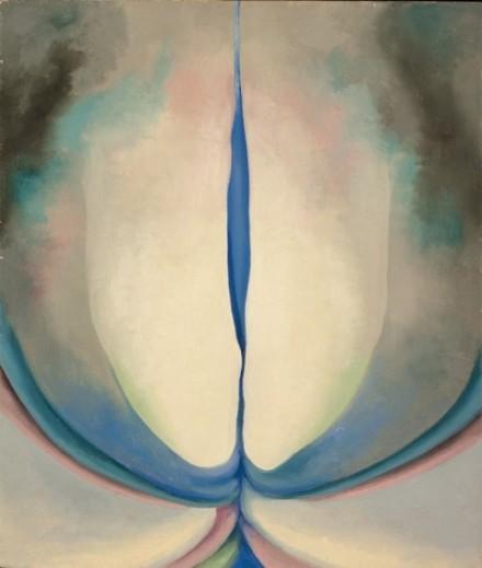 Georgia O'Keeffe - Blue Line - 1919 - olio su tela - Santa Fe, Georgia O'Keeffe Museum