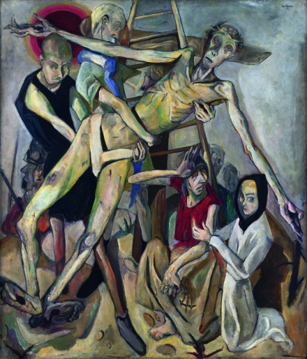 descent from the cross 1917, the museum of modern art ny