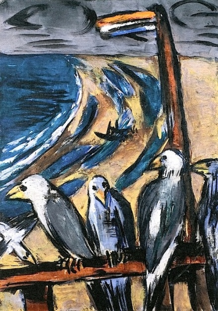 sea gulls in the storm 1942, samlung des westdeutschen rundfunk, koeln